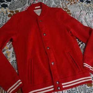 HOLD NWOT Vintage Look Varsity A&F Baseball Jacket